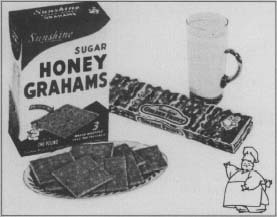 A 1959 graham cracker magazine advertisement. (From the collections of Henry Ford Museum & Greenfield Village.)