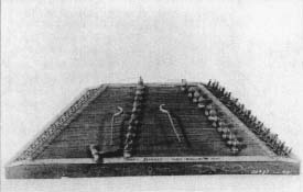 A dulcimer mode by Henry Bryan! of Wolfeboro, New Hampshire, in 1898. (From the collections ol Henry Ford Museum & Greenfield Village, Dearborn, Michigan.)