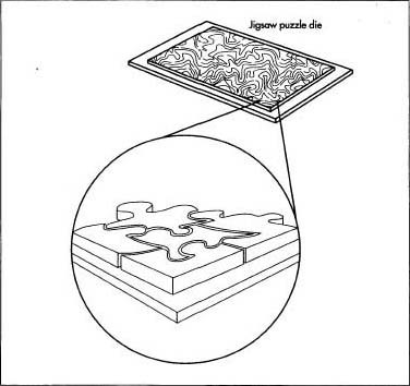 How Jigsaw Puzzle Is Made Material
