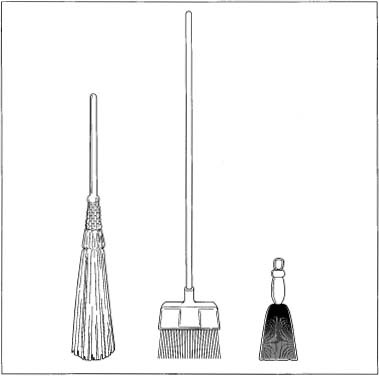 How broom is made - material, manufacture, making, history, used ...