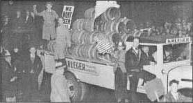 A demonstration against Prohibition.